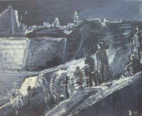 Gunilla Svärd Ruiner efter kriget