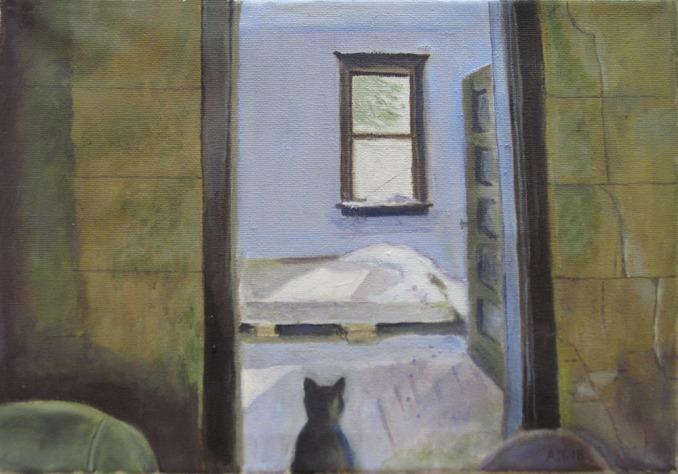 """Anita Tholander """"Katt i ödehus"""""""