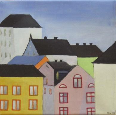 "Ingegerd Ardmar ""Stadsvy Norrköping"""