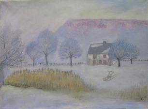"""Anita Tholander """"Vintermorgon"""""""